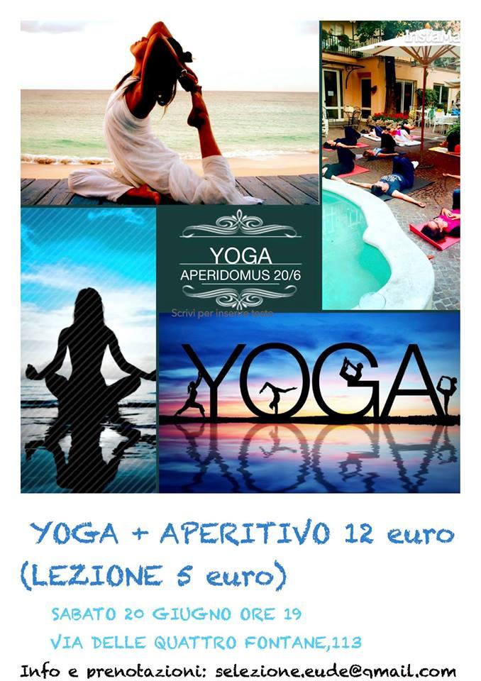 Bio-Yoga, Aperiyoga 20 giugno @Aperidomus, hata yoga